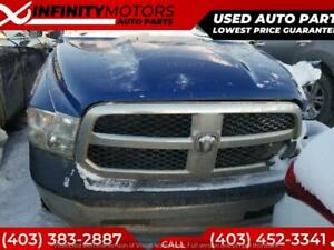 2014 DODGE RAM 1500 FOR PARTS PARTING OUT CARS CAR PARTS
