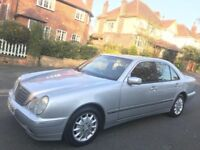 Mercedes-Benz E Class 2001 E200 Kompressor Elegance 4dr ** 1 OWNER FROM NEW ** FULL SERVICE HISTORY