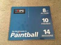 20 Paintball Tickets for IPG (+ 2000 Paintballs)
