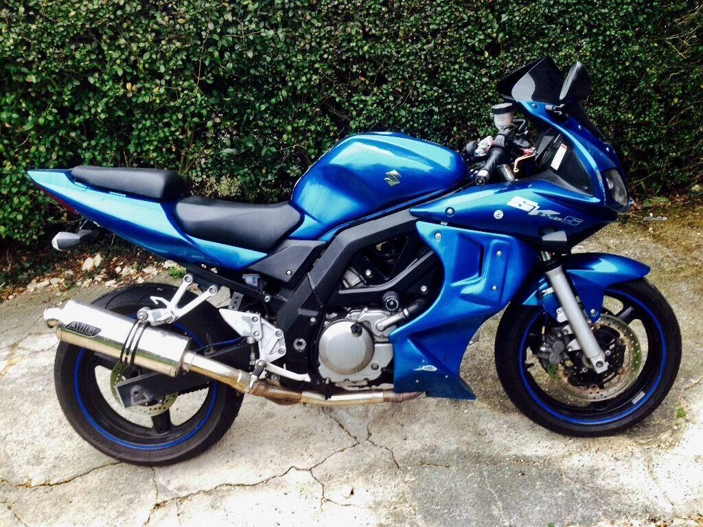 suzuki sv650 sv650s sports touro blue rare colour