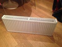 Brand new white radiator