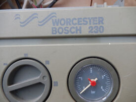 WORCESTOR BOSCH 230 boiler spare parts. Complete front control panel including Gauge, Switches & all