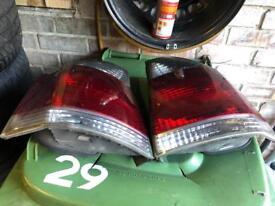 Vauxhall tinted rear lights set