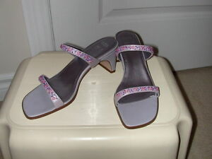 Lavender Beaded Shoes, by Marks & Spencer