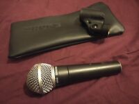 Shure 58 (PG58/SM58) Dynamic Vocal Microphone