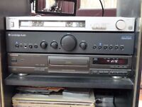 Stack Stereo System with Technics and Cambridge Units