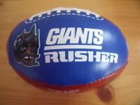Giants mini softee American football. £4 ovno.