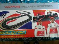 Scalextric Hamilton Vs Button F1 set (mint cars in sealed box) £65