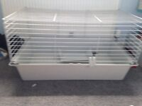 Grey guinea pig cage in great condition