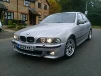 Bmw 525i M-sport Auto 02-Reg Fully Loaded 195k FSH Px Welcome
