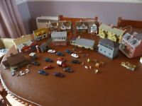 00 Gauge Model Railway Buildings and Scenery. All in good condition.