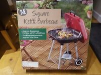 Square Kettle BBQ - brand new