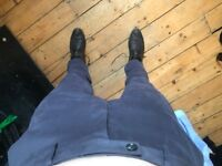 Reiss grey trousers, size 34
