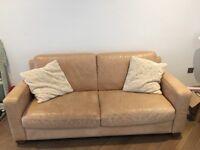 Italian soft leather sofa /s