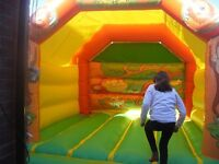 12ft by 15ft Jungle bounce for sale