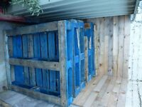 8 Wooden Pallets - FREE - Whitley Bay... ONLY 4 LEFT! (gone subject to collection tomorrow evening)