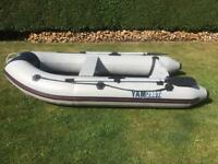 Inflatable Dingy with Outboard Motor