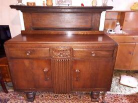 Vintage Oak Sideboard