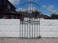 Wrought iron gate / Garden gate / Metal gate / Steel gate / Side gate / Tall gate / Entry gate