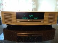 Bose Wave Music System, CD player, Radio, Aux, remote