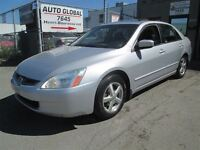 2003 Honda Accord EX-L,4 CYLINDRE,AUTOMATIQUE,CUIR,TOIT OUVRANT,