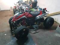 Jingling venom 250cc road legal quad bike