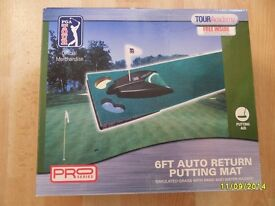 Golf Putting mat. Unused & boxed.