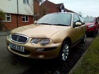 Rover 25 1.4 Gold 02 reg low mileage
