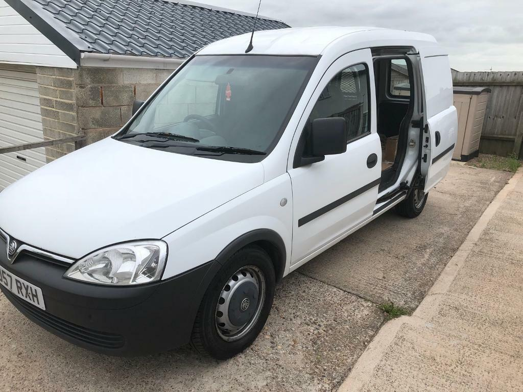 2007/57 VAUXHALL COMBO 1.7 CDTI DIESEL VAN WITH SLIDING SIDE DOOR