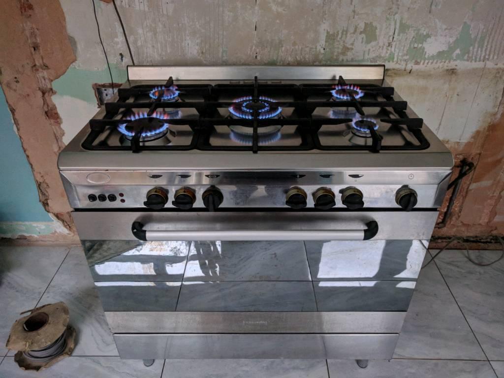 900cm Gas Range Cooker