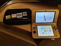 Nintendo 3DS XL with Pokemon Y