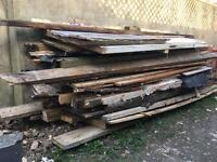 Free timber available for collection