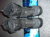 SNOWBOARD BOOTS 1 pair FLOW brand size 9 good condition