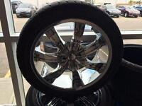 """Tires and 20"""" rims for an Acura MDX"""