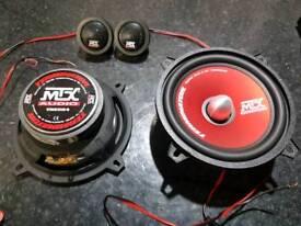 Mtx audio terminator 5.25 inch component speakers