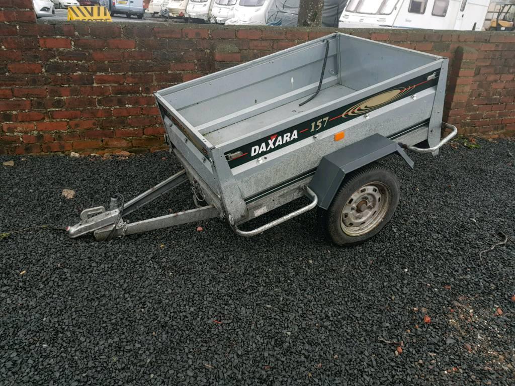 Daxara 157 car tipping trailer