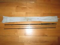 9 FT SHAKESPEARE BLACK FLY TROUT FLY FISHING ROD