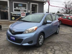 2013 Toyota Yaris LE  BLUETOOTH  **CERTIFIED**