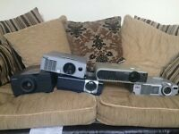 Job lot of projectors all in working condition