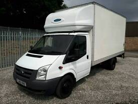 2010 Ford Transit Luton Van with tailift