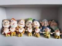 Disney Store original 7 Dwarves