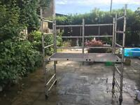 Aluminium pop up Scaffold tower