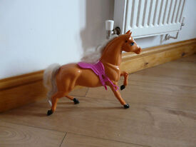 BARBIE HORSE with saddle - only £4!