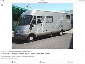 WANTED MERCEDES HYMER STARLINE TWIN BED MODEL