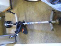 25.4cc petrol strimmer and bush cutter