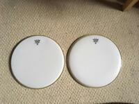 "Remo Ambassador Weatherking Hazy 14"" Snare Side X2 the"