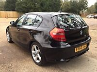 2010 BMW 1 SERIES 2.0 116i SPORT 5DR MANUAL LOW MILES HPI CLEAR
