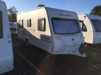 Bailey Ranger 460/4 caravan with fixed bed Ready to go