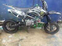 160cc cwr pit bike