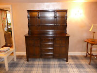 Ercol sideboard welsh dresser solid elm. Perfect for upcycling.